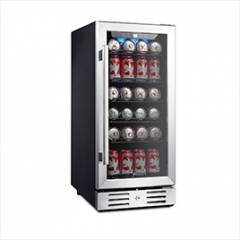 "Kalamera 15"" Beverage cooler 96 can built-in or Fr"