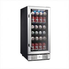 """Kalamera 16"""" Beverage cooler 96 can built-in or Fr"""